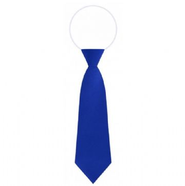 Elasticated Royal Blue Tie